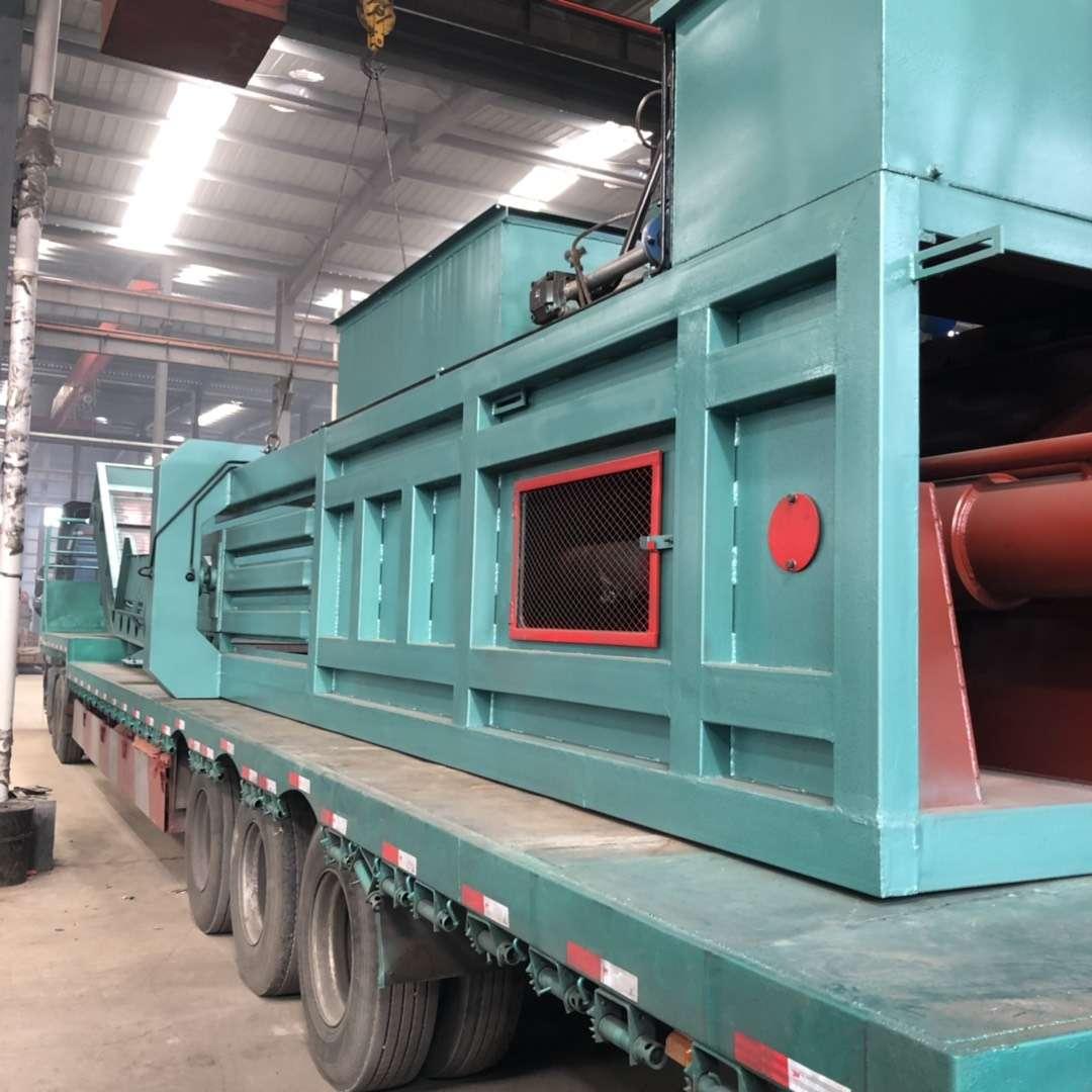180型废纸打包机发往河北唐山
