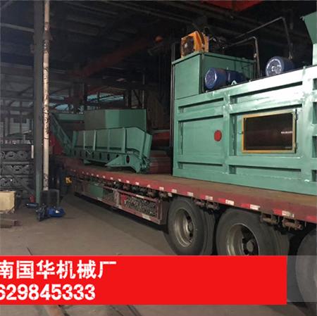 200型废纸打包机发往广东