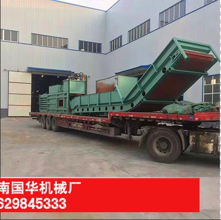 180型废纸打包机发往黑龙江